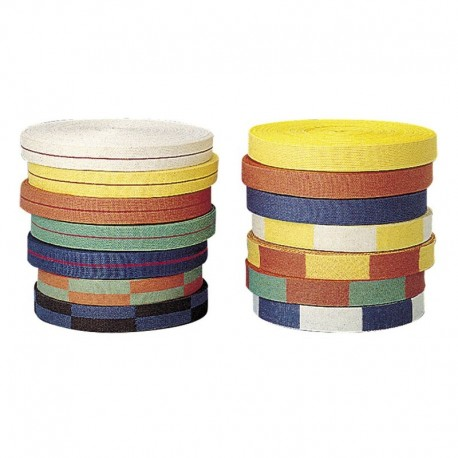 Judo Two-colored Belt. Roll .50 m
