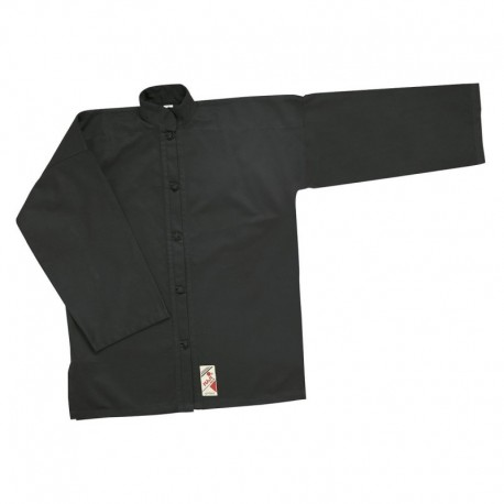 Kung Fu Jacket. Black Buttons