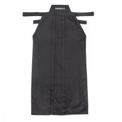 Hakama . Cotton. - Black (Fujimae)
