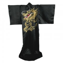 Japanese Kimono Gold Embroidered.Dragon