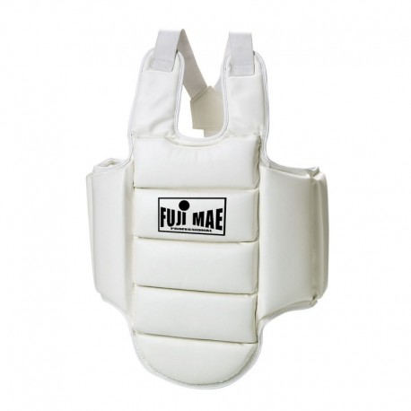 Karate Body Protector. White.