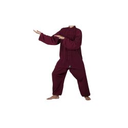 Tai Chi Uniform Bordeaux