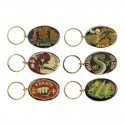 METAL KEY RING. OVAL. SEVERAL STYLES