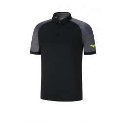 Polo Printed Blue, Black and yellow