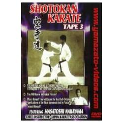 DVD Nakayama: Shotokan Karate Vol. 3
