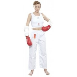 Forearmguard HAYASHI white WKF approved