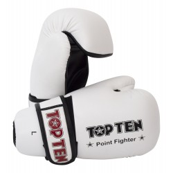 "Semigloves ""Point Fighter"" TOP TEN white"