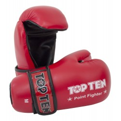 "Semigloves ""Point Fighter"" TOP TEN red"