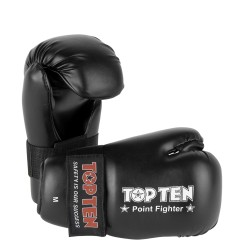"Semigloves ""Point Fighter"" TOP TEN black"