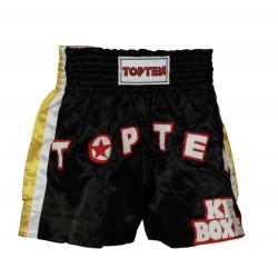 """Thaiboxpants TOP TEN black """"Kickboxing"""""""