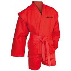 "Sambo uniform ""TOP TEN"" Red"