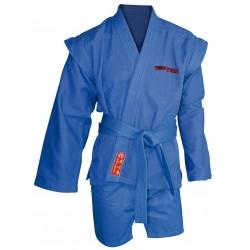 Sambo uniform TOP TEN Blue