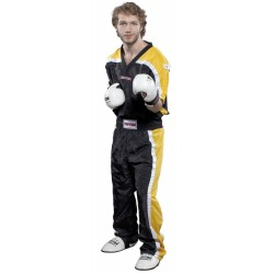 Kickboxjacket TOP TEN black/yellow