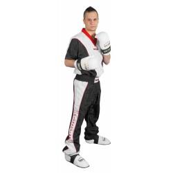 Kickboxing jacket TOP TEN black/white