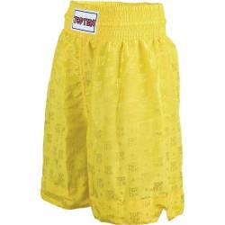 Short Simple Stripe Yellow