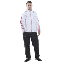 Fitness Suit TOP TEN white/red/black
