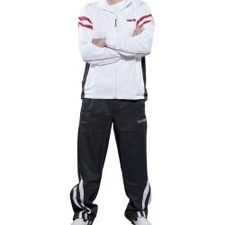 """Trainingsuit for women TOP TEN """"Fight Elite"""" white/blue"""