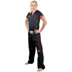 Kickboxhose Black Red