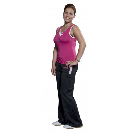 Top Pour Femme Fitness Rose