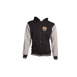 Jacket with hood TOP TEN black