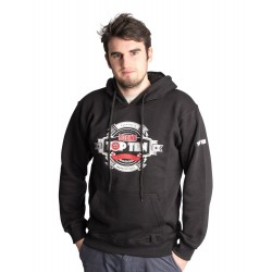 "Jacket with hood TOP TEN ""Boxing"" black"