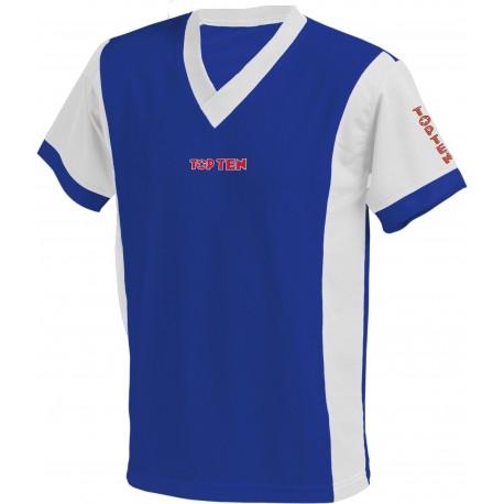 TOP TEN T-Shirt blue/white
