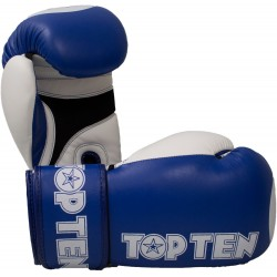 Boxing gloves TOP TEN Special Edition white/blue 10 oz