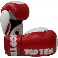 Boxing gloves TOP TEN Special Edition white/gold 10 oz