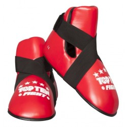 """Protection Des Pieds """"Fight"""" Rouge"""