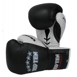 "Boxinggloves ""TOP TEN Pro"" - black/white"