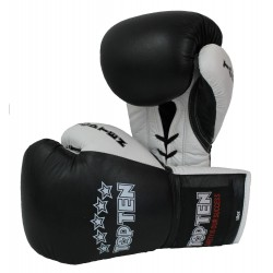 "Boxinggloves ""TOP TEN Pro"" - black/white"