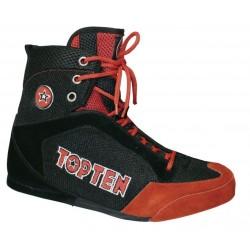 Chaussures De Boxe Rouge / Noir