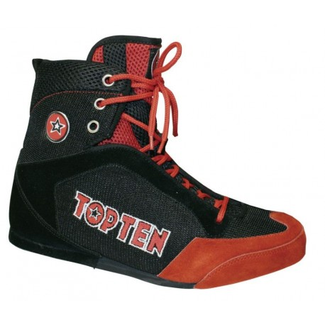 Boxing shoes TOP TEN black/red