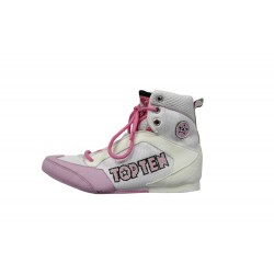 Boxing shoes TOP TEN white/pink