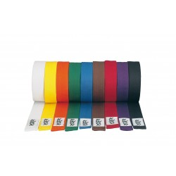 Taekwondo / karate belt, various colors and lengths