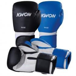 Gants de boxe fitness, diverses onces 2 oz et 2 couleurs