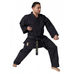 Karate uniform Traditional black, 12 oz. Kwon