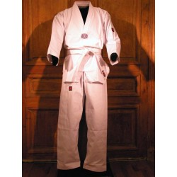 DOBOK WHITE LAPEL BUDO HOUSE