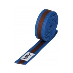 Blue / brown / blue belt