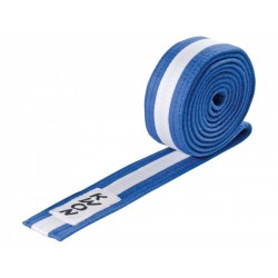Blue / white Judo belt