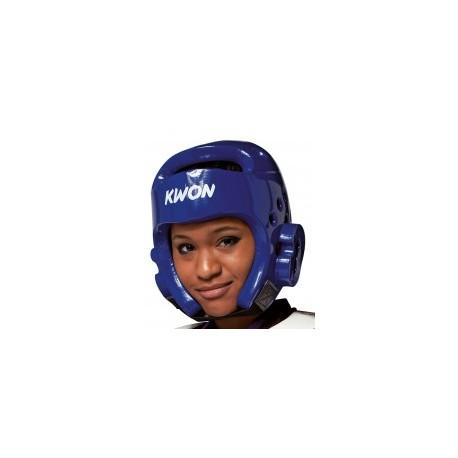 Blue PU helmet