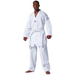 TKD suit Hadan Plus, white lapel