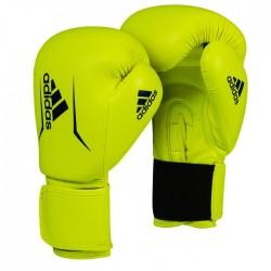 adidas Speed 50 (Kick) Boxing Gloves Yellow / Blue