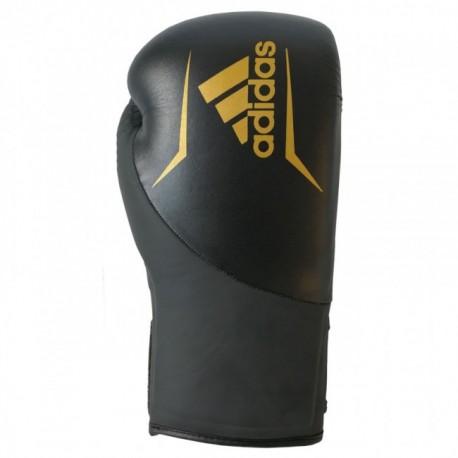 adidas Speed 200 (Kick) Boxing Gloves Black / Gold