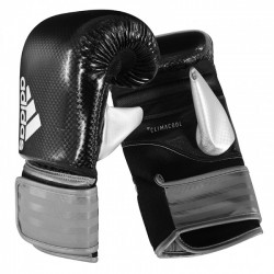 adidas Hybrid 75 Boxing Bag Gloves Black / White