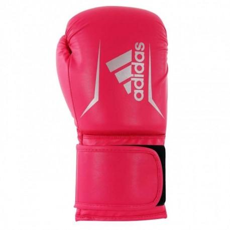 Boxing gloves adidas Speed 50 (Kick), Pink / Silver
