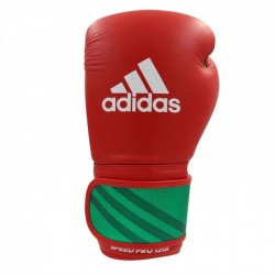 adidas Boxing Gloves Speed ​​Pro Red / Green / White