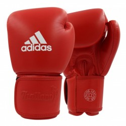 Gants adidas Muay Thai TP200 Rouge / Blanc