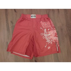 Fight Sports Shorts Special Nylon Red