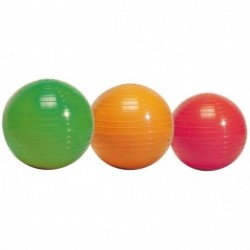 Ballasted ribbed ball - 1 kg